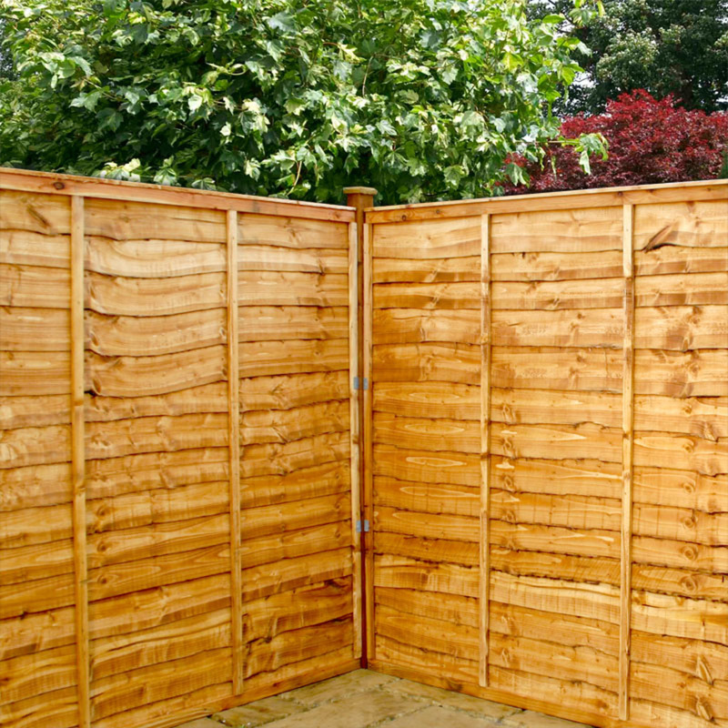Privacy Wood Fence - Spruce Stockade Fence Panels - HOOVER FENCE